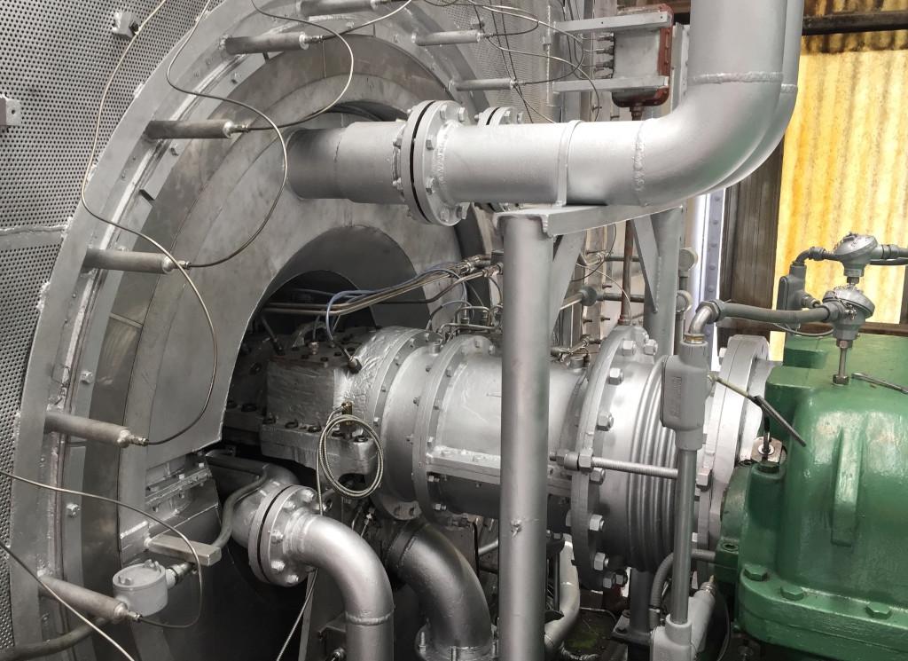 Gas torque converter