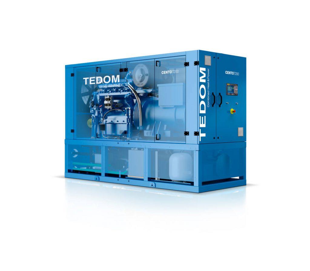 TEDOM Cento T200 CHP unit