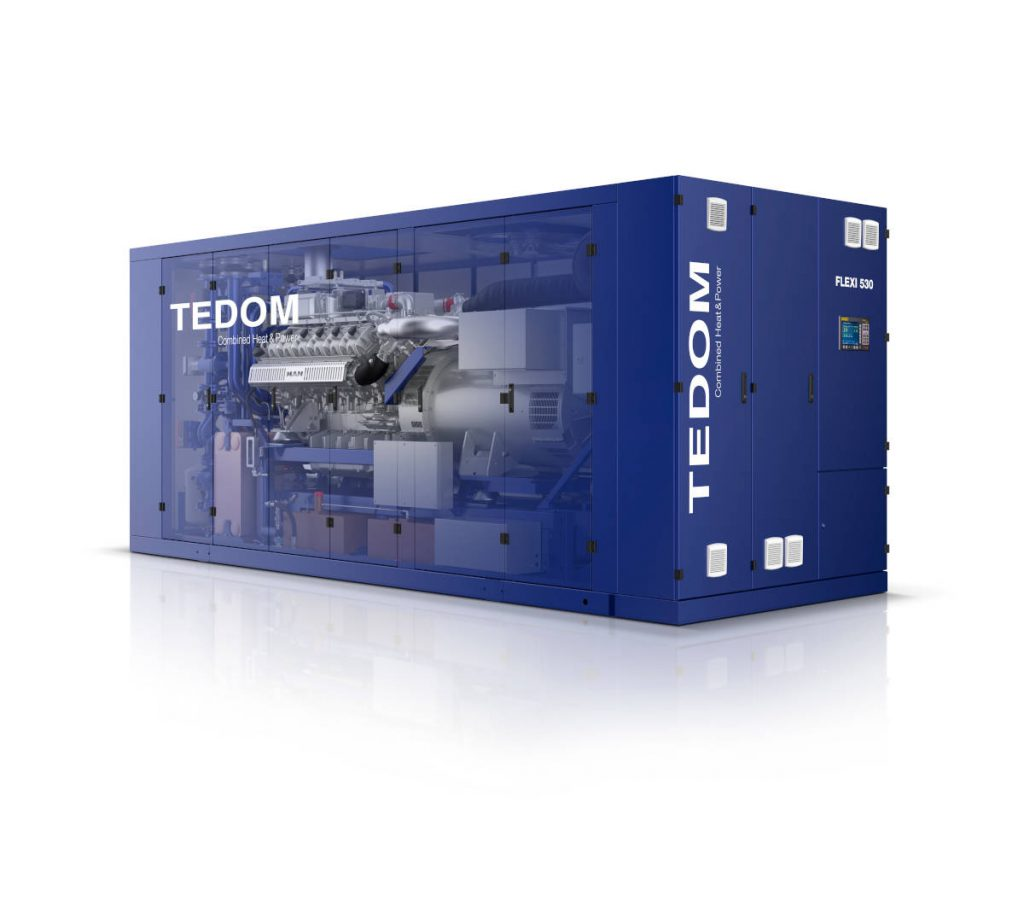 TEDOM Flexi CHP unit